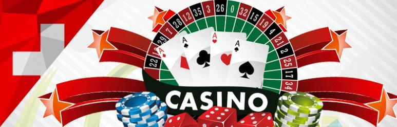 Ein Schweizer spielt im Online Casino